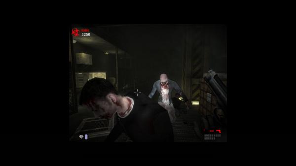 Szabványos zombihentelés FPS nézetben