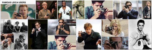Híres emberek akik Leicát használnak
