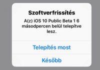 iOS10beta